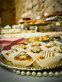 catering pastry wedding table