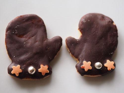 irish chocolate mittens