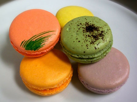 colorful French Pastries